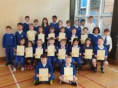 P4 First Communion Certificates