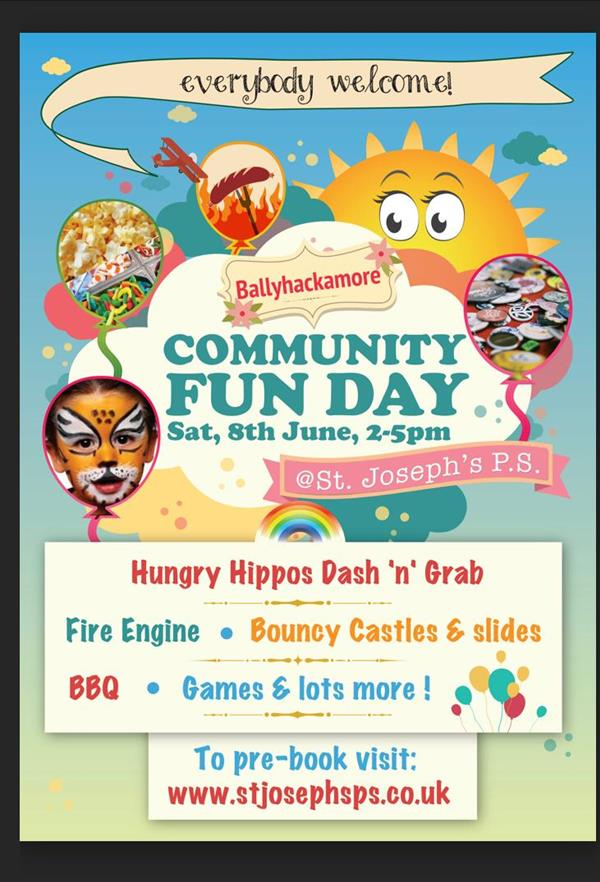 Community Fun Day - 8th June