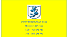 End of year disco