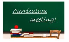Curriculum Meetings