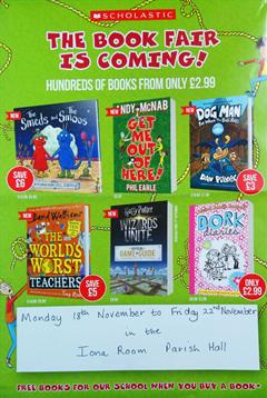 Book Fair Returns!