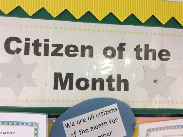 Citizen of the Month (November)