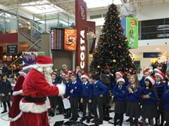 Choir at Belfast City Airport