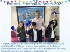 Fantasy Football Winners 2021